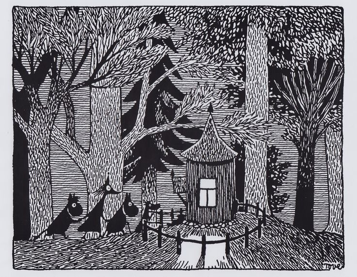 Image result for tove jansson sketches