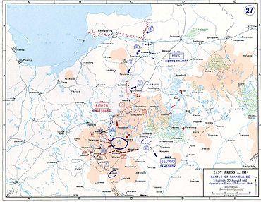 Battle of Tannenberg - Wikipedia, the free encyclopedia