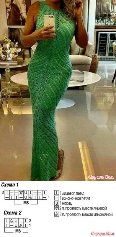 Помощь в определении узора для платья - Вязание - Страна Мам