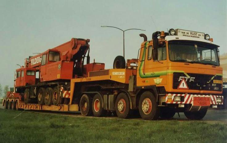 FTF ZW.TRANTSPORT. SPECIAALTRANSPORT   Oude trucks. Vrachtwagens