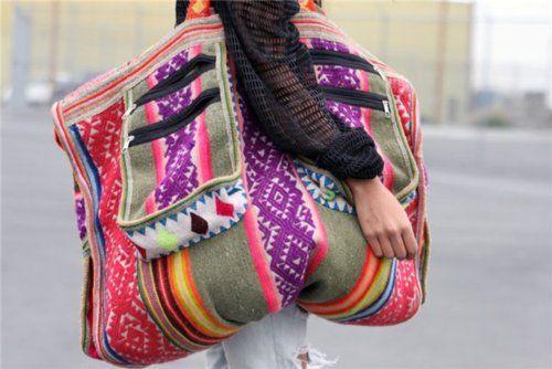 Eclectic Boho Travelbag
