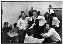 "Mykonos. 1967. Dancing in a cafe.  ""A Greek Portfolio""  © Costa Manos/Magnum Photos Constantine Manos"