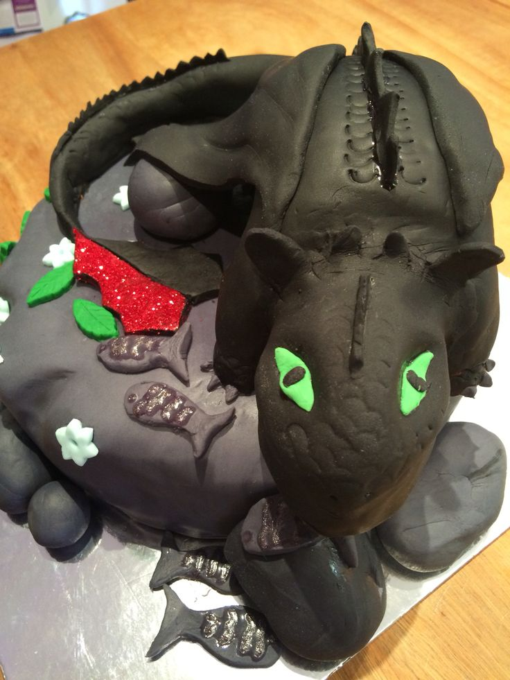 Finished Toothless