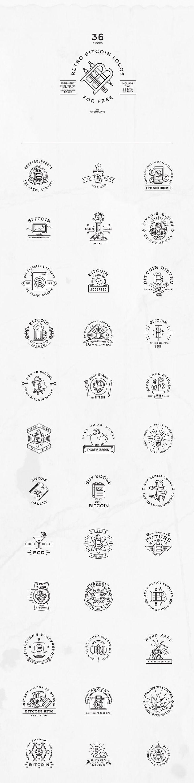 36-retro-bitcoin-logos-preview1