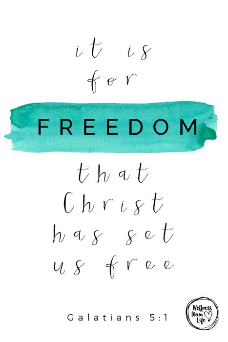 How to Live Free and Fulfilled as a Mom - Galatians 5:1