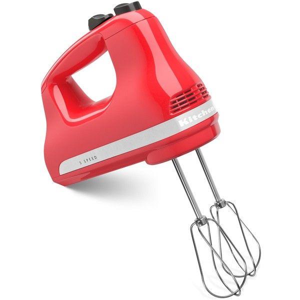 KitchenAid hand mixer- watermelon amazon.com
