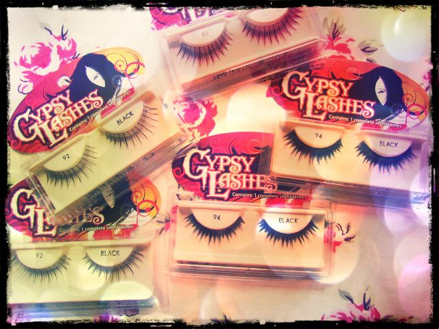 Gypsy Lashes - $4.99 Enhance your eyes in one easy step! Natural looking, beautifully feathered, pre-trimmed, hand tied to a sturdy band, consistent shape, texture, and length. Easy to clean with shampoo and cool water. Allows for multiple wears. #Gypse #falselashes #eyelashes #lashes #long #bold #beautiful #beauty #cosmetics #makeup #girly #retail #outlet #Canada