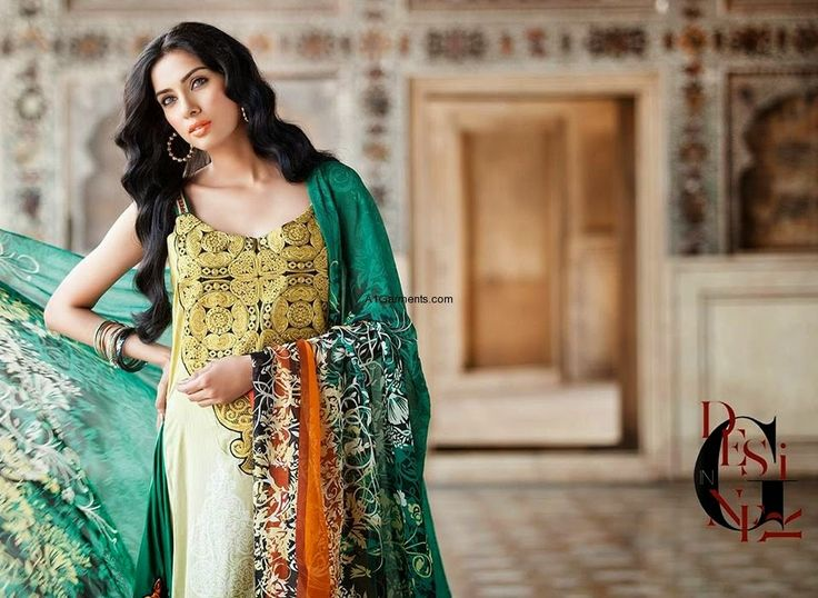 #Al-Zohaib #textile has launched their Eid collections with the names of #Mahnoor #Embroidered #Collection,