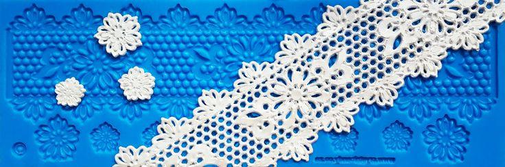 New STARTER Collection: Sienna Lace Mat - SC 004. www.crystalcandyonline.com