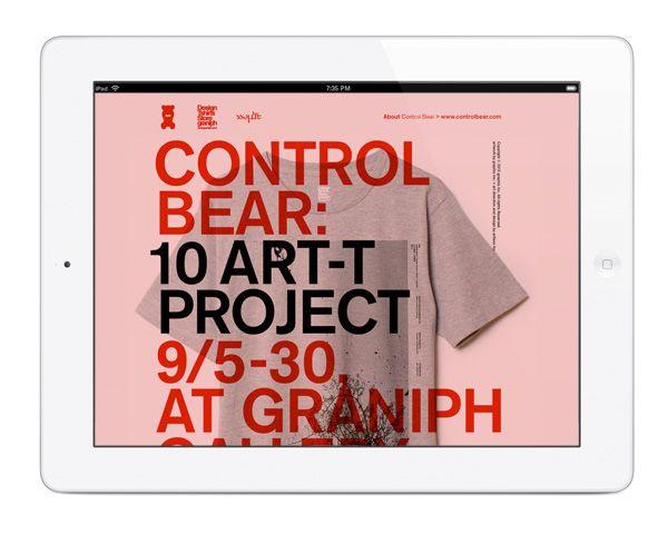 Control Bear 10 Art-T Project : Special Website