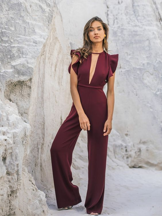 757e00033a4 Awesome 50+ How To Wear Jumpsuits With Style Ideas