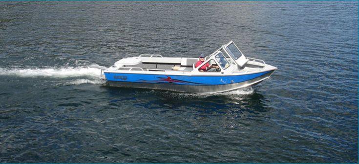 New 2012 Hewescraft 180 Sport Jet Multi-Species Fishing Boat