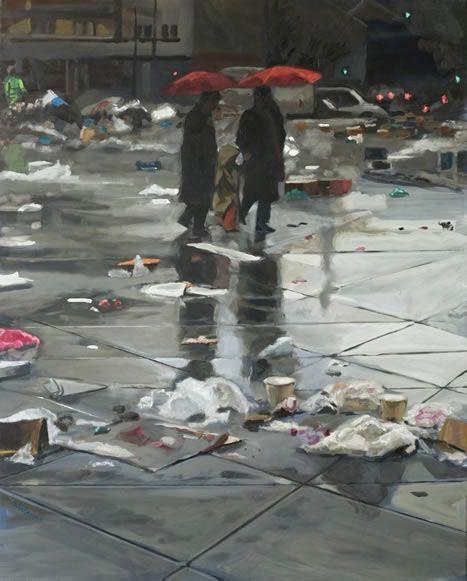 ©Marc Goldstain Red Umbrella Paris www.bullesconcept.com