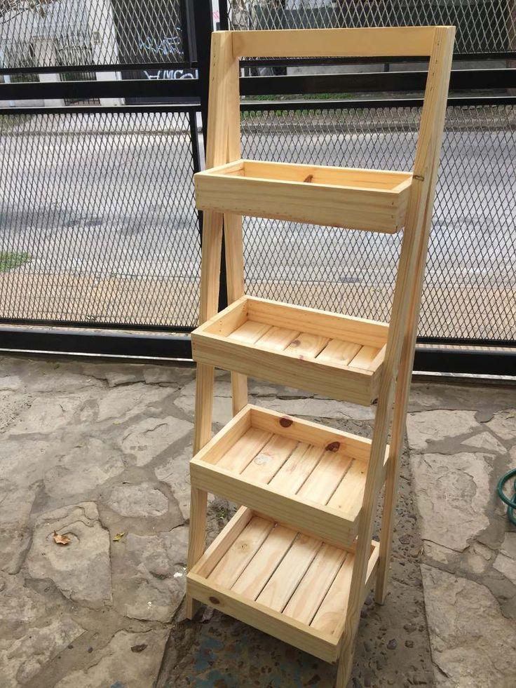 Organizador escalera organizadores escalera y repisas - Muebles para frutas ...
