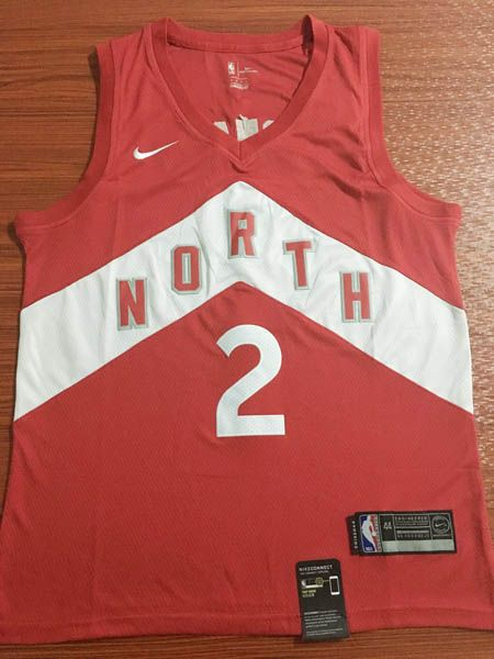 8f0fe8723 Camisetas nba baratas nike rojo Earned Edition  2 Kawhi Leonard Toronto  Raptors 2019