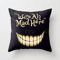 Society6.com A fun pillow :) Decinitely something I'd put in the reading corner of a nursury