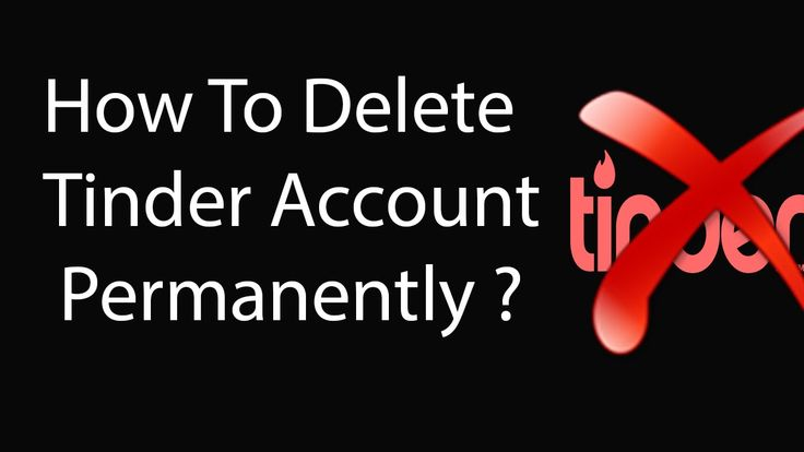 deactivate tinder account