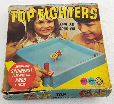 Top Fighters by Marx Games 1970s