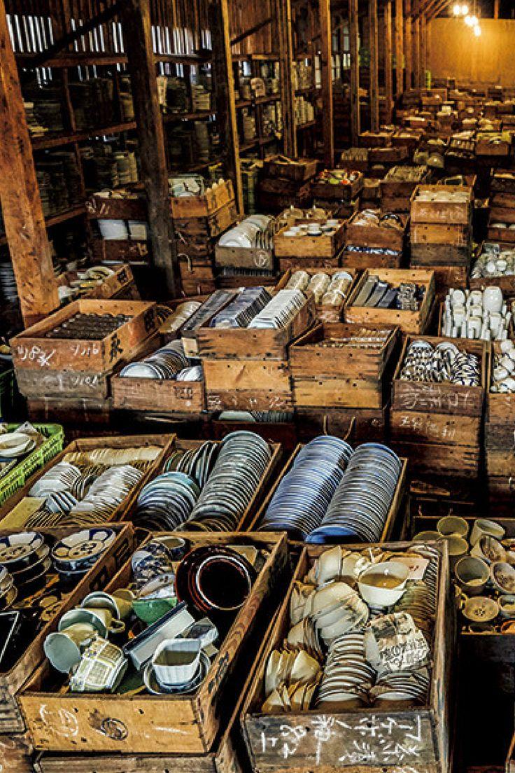 Dead Stock ARITA-YAKI 器・器・器の大海原を泳ぐ──有田焼デッドストック掘り出しツアー  http://gqjapan.jp/life/interior/20160309/dead-stock-arita-yaki