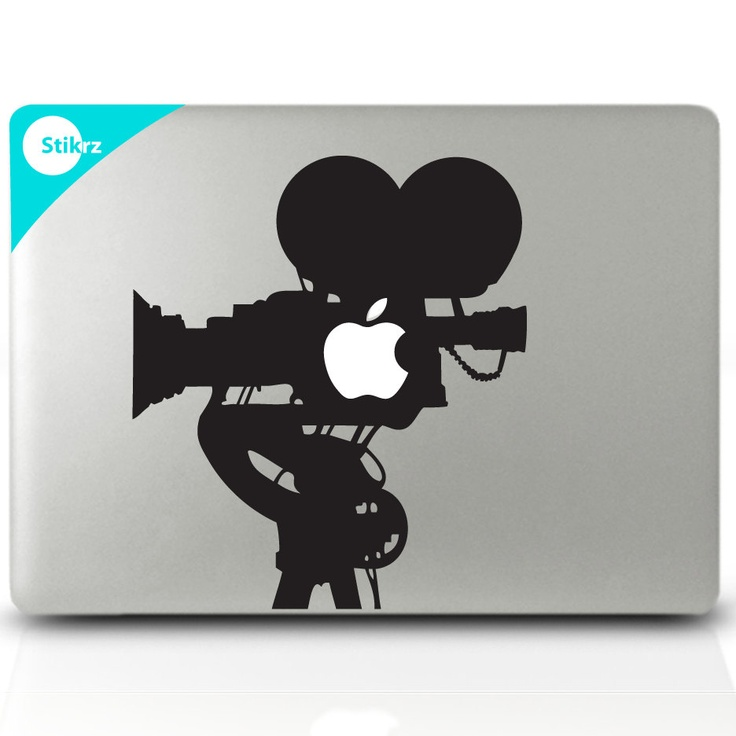 Vinyl mac decal vinyl laptop stickers wall computer geekery film camera removable decal 63