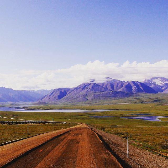 【sasakinorio】さんのInstagramをピンしています。 《アラスカのダルトンハイウェイも厳冬期にいつか歩いてみたい。 ここは北極圏を越えて200km程北上した場所。 ここからこの道の一番綺麗な風景が始まってくる。 夏はキャンピングカーも通る。レンタカーはほとんどの会社でこの道を走ることを禁止している。数百km人が住んでない上に未舗装で電波も届かなくリスクが高すぎるので。グリズリーもいっぱい居る。フェアバンクスからのツアーは有るのでいつかこの景色を見に行って見てください。 俺はこの時800kmを14日で歩きました。長い日で一日14時間歩き続けた。 森と湿地帯では日本の6倍はある蚊が200匹ぐらい追いかけて全身刺されるのでモスキートスプレーは必須。 #sponsor#finetrack#streamtrail#SOTO#コンズサイクル#昭和ブリッジ販売#感謝#ありがとうございます#冒険#世界#平和#景色#絶景#adventure#trip#worldtrip#Odyssey#旅#旅人#アラスカ#Alaska#fairbanks…