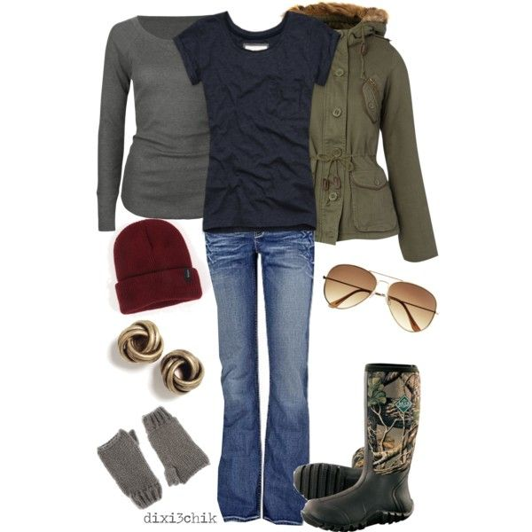 Love It, can't believe they have Muck Boots!!! created by dixi3chik on Polyvore