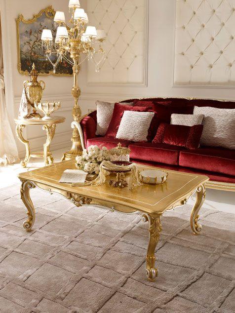 Handmade Italian Luxury Classic Dining Room Tables, Italy.