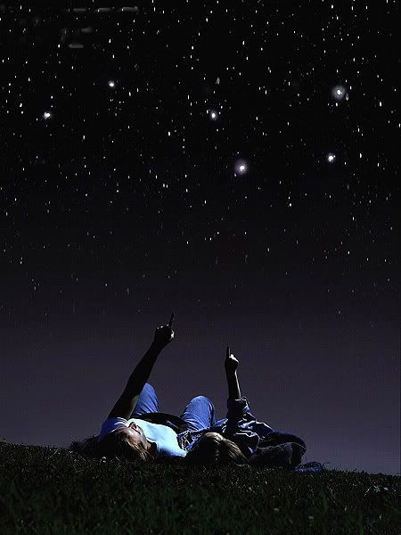 We'll pick blackberries all day, and then lay under the sky at night, counting all of the stars <3