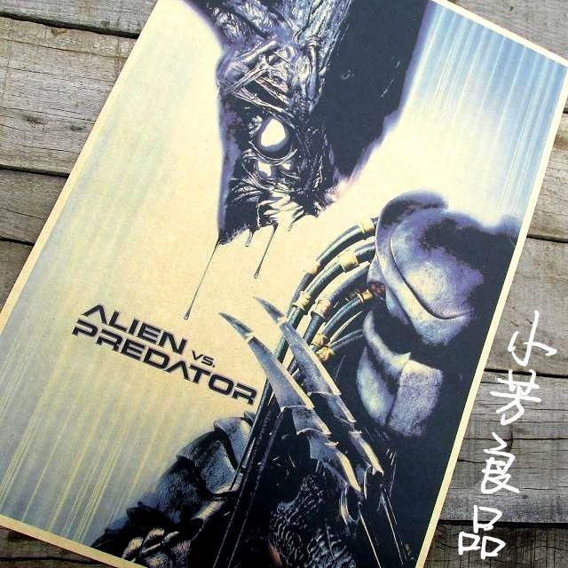 Дешево ретро старинные плакат AVP чужой против хищника классические фильмы плаката живопись бесплатная доставка 42 * 30 см