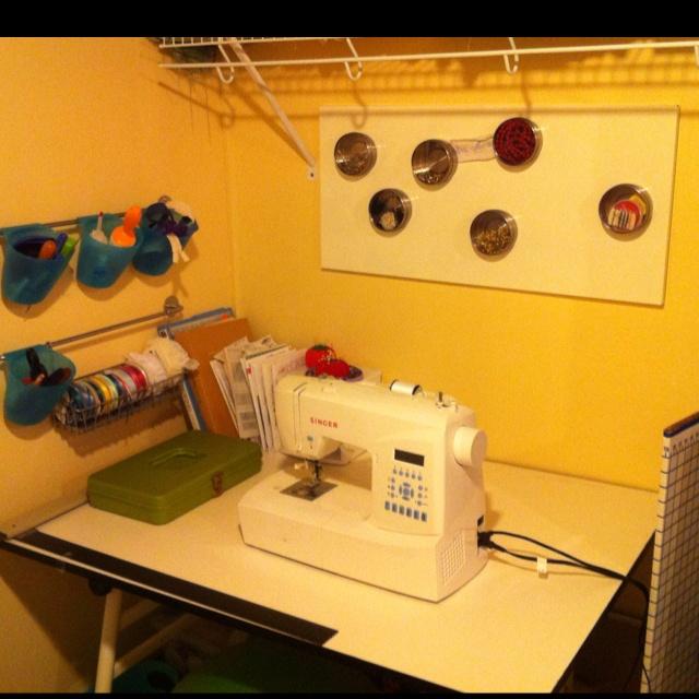 Crafting area!