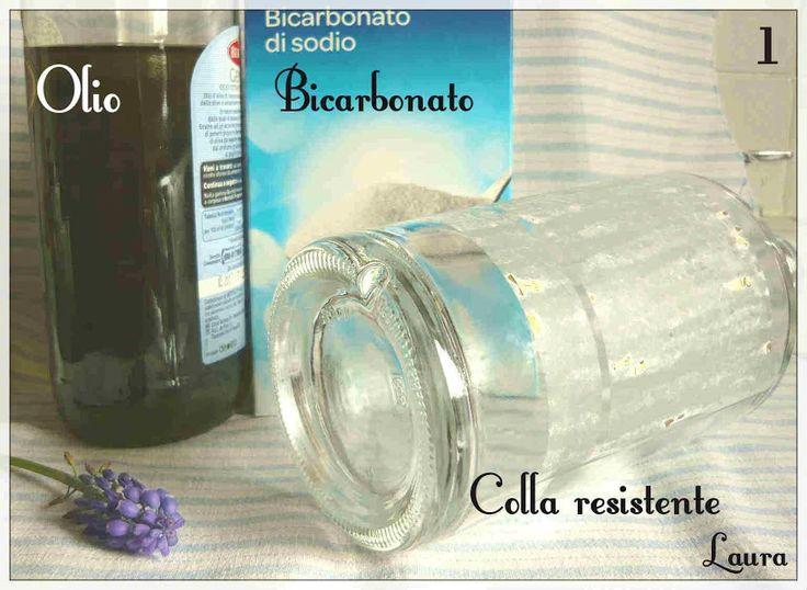 Laura R. - come togliere la colla resistente dai barattoli di vetro da riciclare