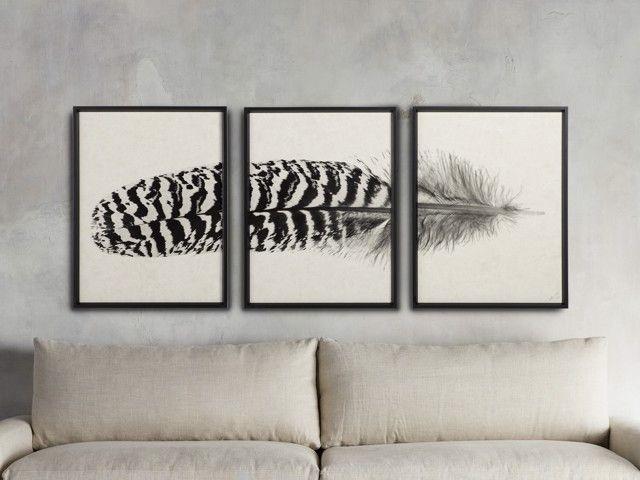 Triptych Wall Art Framed