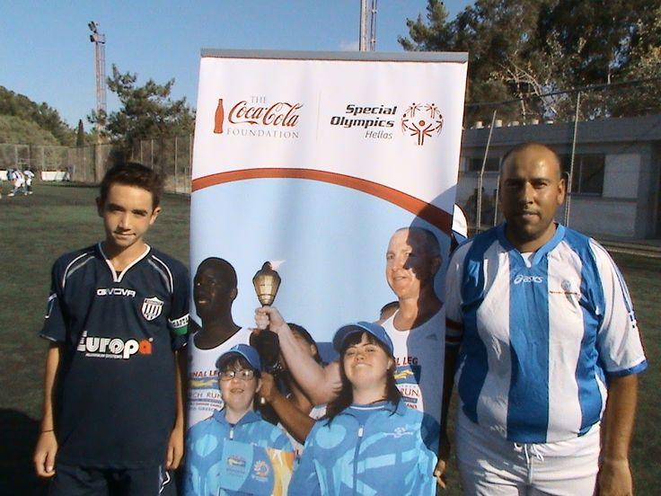 Ένα ματς εντελώς διαφορετικό από τα άλλα έδωσαν οι ακαδημίες της ομάδας του Εθνικού που αγωνίστηκαν κόντρα στην Εθνική ομάδα ποδοσφαίρου των Special Olympics. Η φιλική αναμέτρηση έλαβε χώρα στο γήπεδο του ΣΕΦ, ενισχύοντας την προσπάθεια της Εθνικής Ομάδας που προετοιμάζεται για το αντίστοιχο Ευρωπαϊκό πρωτάθλημα στην Αμβέρσα.  Εκ μέρους της Europa ευχόμαστε ολόψυχα καλή επιτυχία στην ομάδα και στα παιδιά που την απαρτίζουν!
