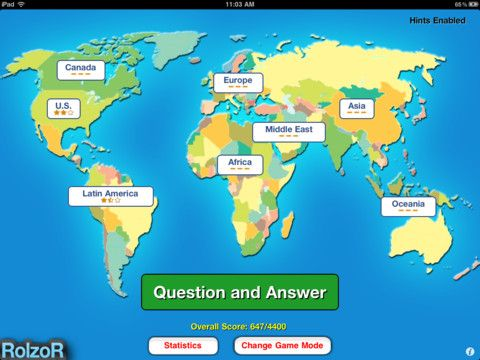 130 best social studies apps images on pinterest study apps tapquiz maps world edition 00 play tapquiz maps for an easy and quick gumiabroncs Choice Image