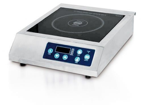 Eurodib Commerial Induction Cooker by Eurodib. $434.50. 6150 BTU. 1800 Watts. 60 HZ. CE, ETL, and NSF Approved. 120 Volt. Single burner, commercial grade countertop induction cooker with German ceramic glass top.  Temperature range on this unit is 140-390 degrees Fahrenheit.. Save 28% Off!