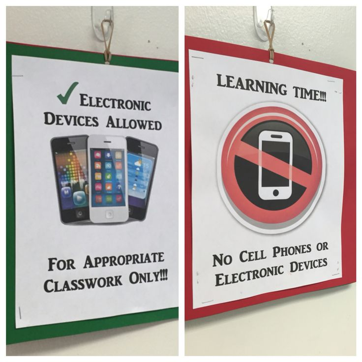 Cell phone classroom rule                                                                                                                                                                                 More
