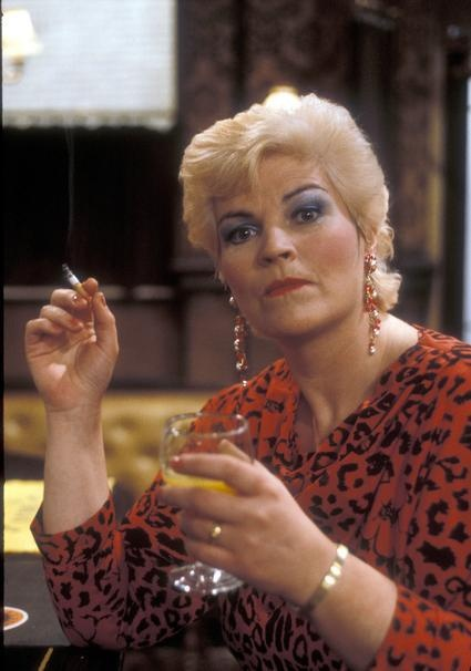 Pat Harris Butcher Evans played by Pam St. Clement.
