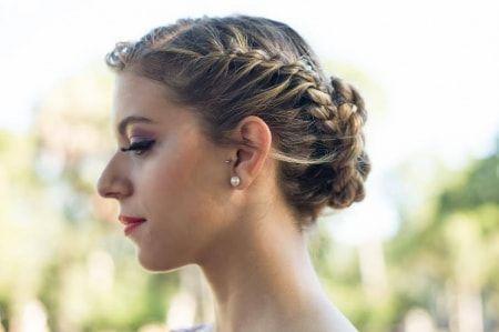 Si querés estar elegante y preciosa en tu gran día, apostá por un divino recogido adaptable a cualquier estilo de novia.