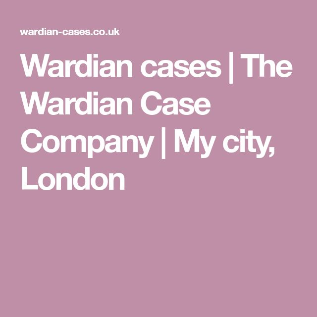 Wardian cases | The Wardian Case Company | My city, London
