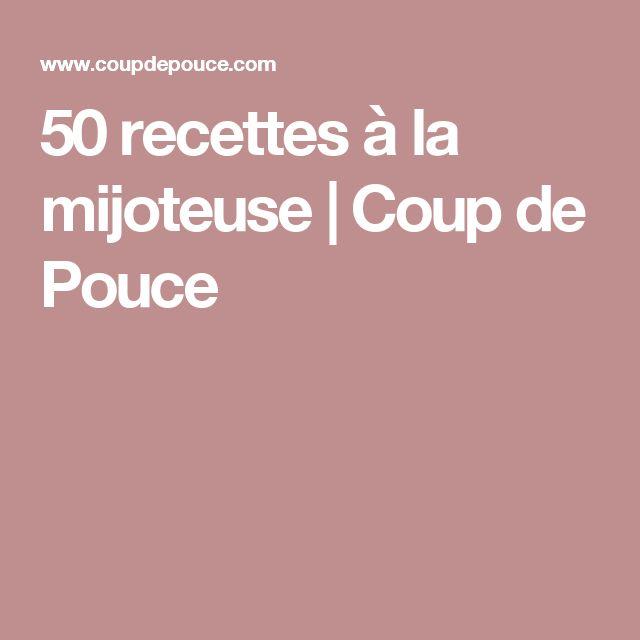 50 recettes à la mijoteuse | Coup de Pouce