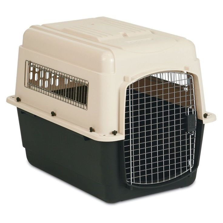 Dog Crate For Large Dogs Car Travel Cage Plastic With Door Pet House L Kennel  #DogCrateFor