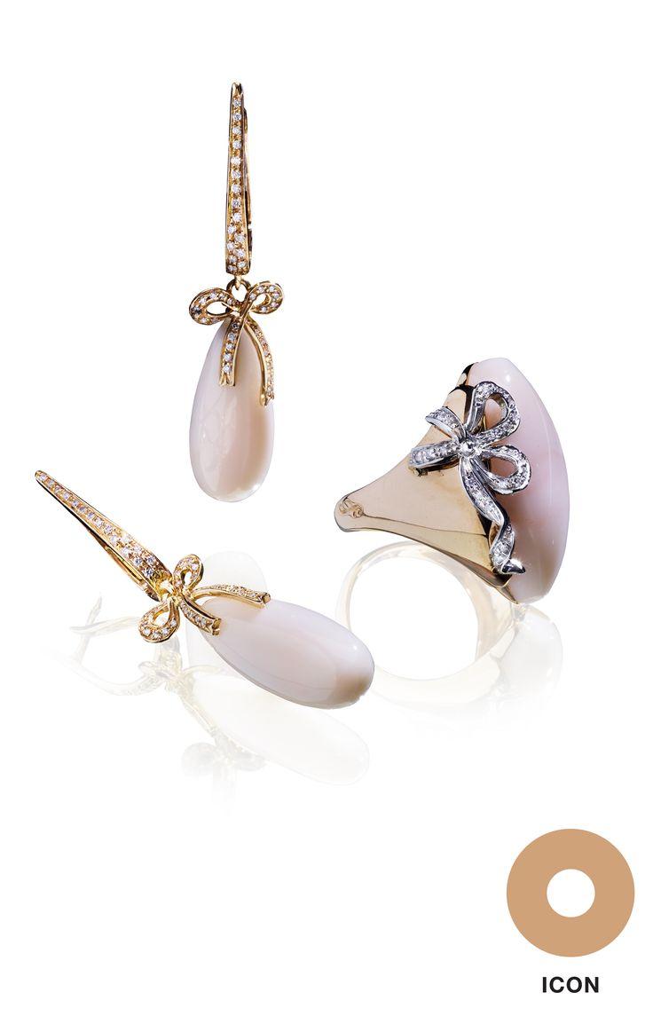#Earrings and #ring by Giampiero Fiorini - #GiampieroFiorini