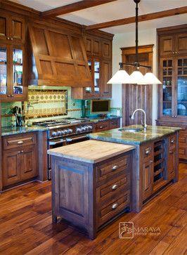 craftsman kitchens | Mountain Craftsman Kitchen craftsman-kitchen