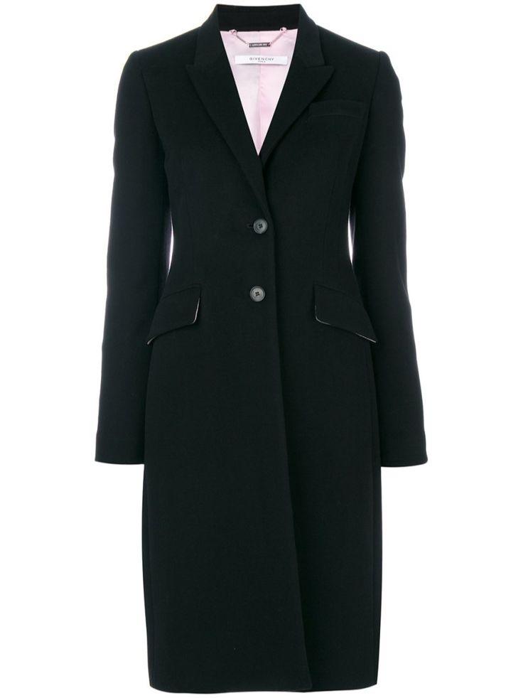 GIVENCHY Single Breasted Coat. #givenchy #cloth #short coats
