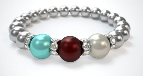 Check out my Mothers Bracelet! What does yours look like? Design a bracelet in just 3 easy steps!