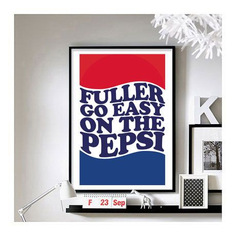 Home Alone Fuller A3 Art Print by BrixtonCreative on Etsy, $21.00