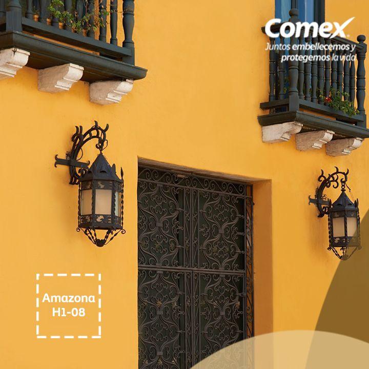 Tu fachada nunca se vio mejor. Con el color #Amazona, una mezcla ideal entre…