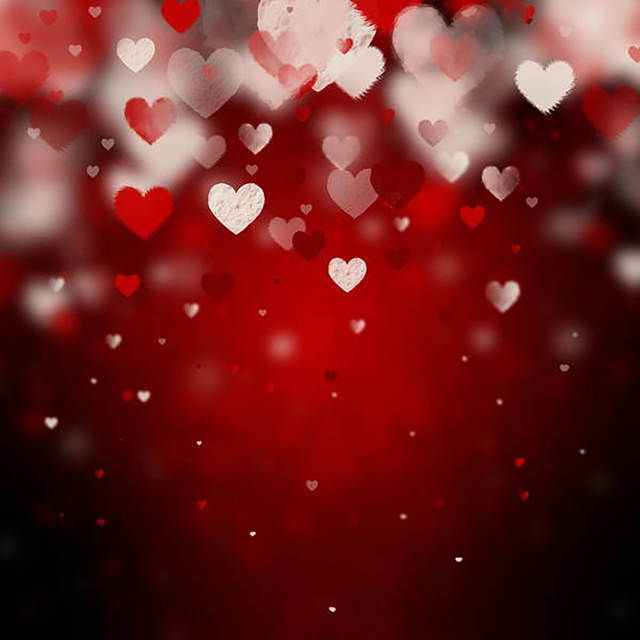 Allenjoy Photographic Background Romantic Love Red Blur Photo Backdrops For Sale Photograph Valentine Background Valentines Wallpaper Valentines Day Background