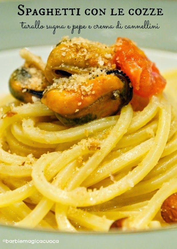 Barbie Magica Cuoca - blog di cucina: Non un semplice spaghetto con le cozze.....