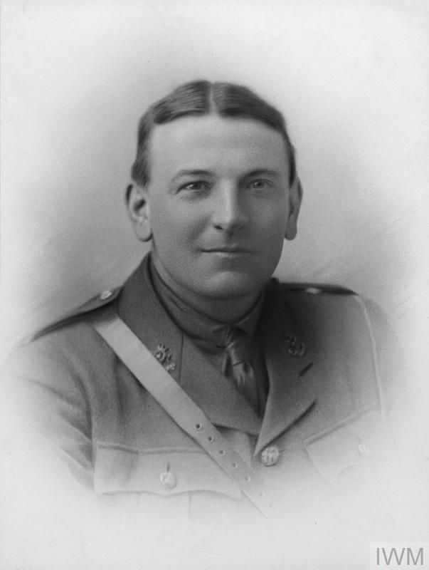 WWI, 1 July 1917, 2nd Lt Reginald C F Dolley, missing in action presumed killed in action near Lens GIWM HU 121347